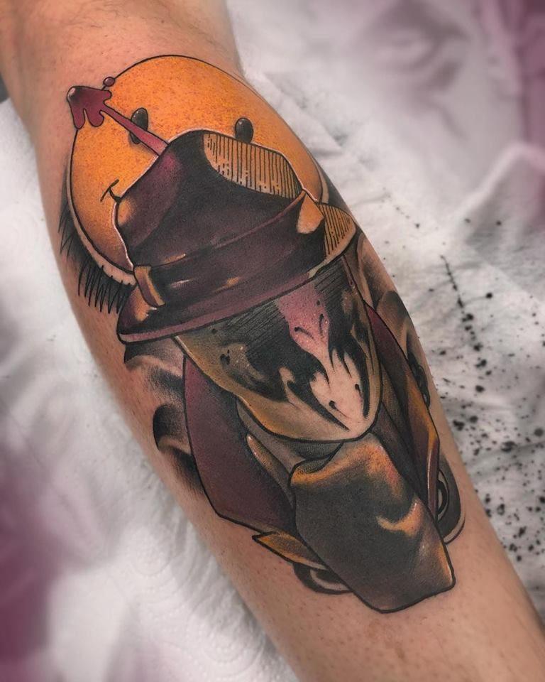 Neotradicional Tattoo realizado en Madrid por Jesus