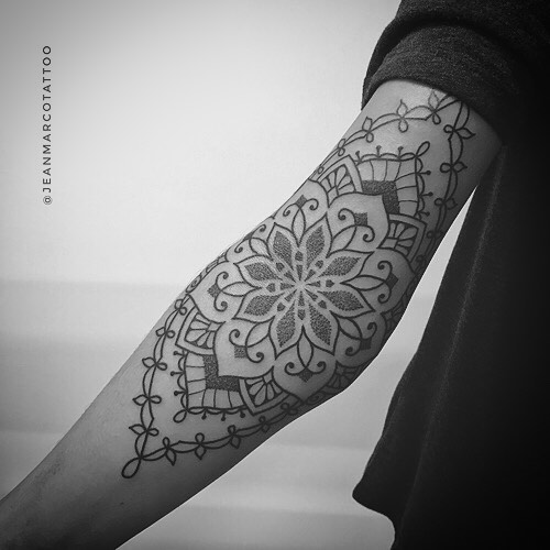 Ornamental Tattoo estilo henna en Madrid por Jeanmarco