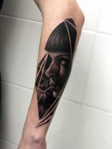 Tatuaje Hiperrrealista en Madrid by Cristian