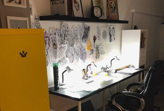sala creacion y diseno baltasar tattoo studio madrid
