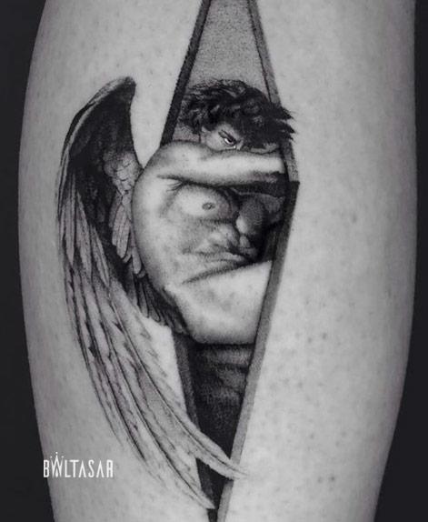 Tatuaje Artistico Realista en Baltasar Estudio de Tattoo en Madrid