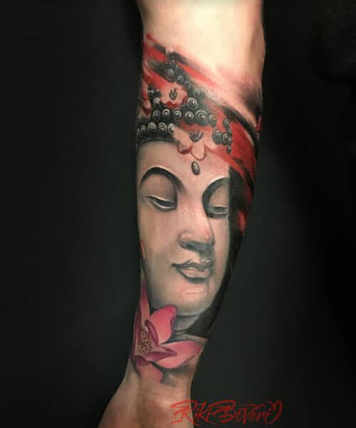 tattoo japones de budha