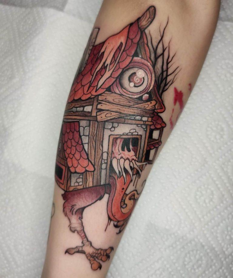 tatuaje de babayaga en madrid