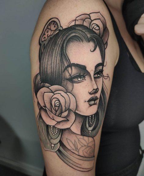 tatuajes neotradi para hombres